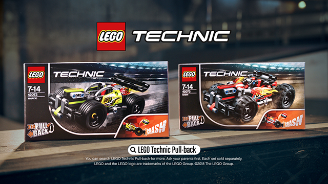 LEGO TECHNIC PULL-BACK